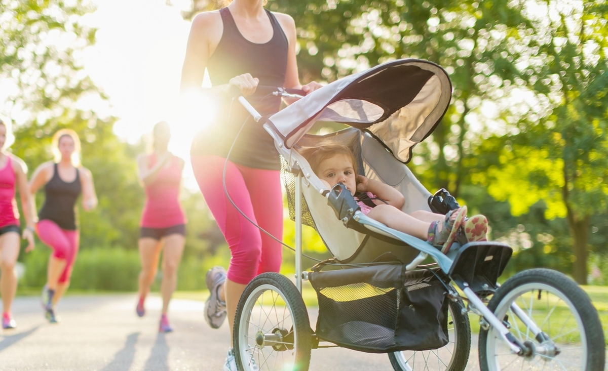 ways to workout with a toddler with you